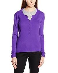 Pull violet Esprit