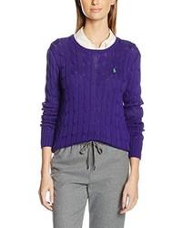 Pull violet Polo Ralph Lauren