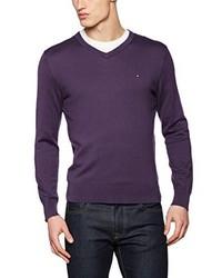 Pull violet Tommy Hilfiger