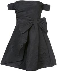 Robe à épaules dénudées noir RED Valentino