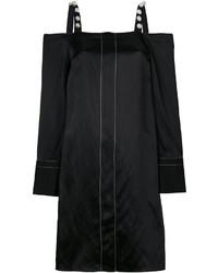 Robe à épaules dénudées orné noir 3.1 Phillip Lim