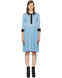 Robe bleu clair Marc Jacobs
