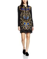 Robe bleu marine Versace