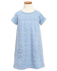 Robe bleue claire