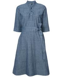 Robe bleue A.P.C.