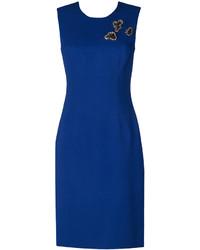 Robe bleue Versace