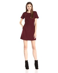 Robe bordeaux French Connection