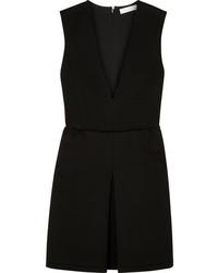 Robe chasuble noire Chloé