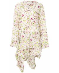 Robe chemise à fleurs blanche Faith Connexion