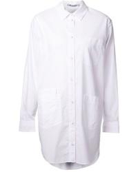 Robe chemise blanche Alexander Wang