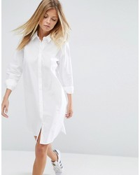 Robe chemise blanche Asos