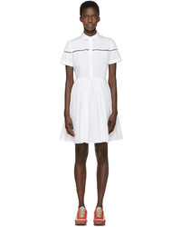 Robe chemise blanche Burberry