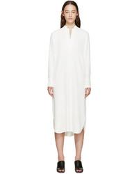 Robe chemise blanche Helmut Lang