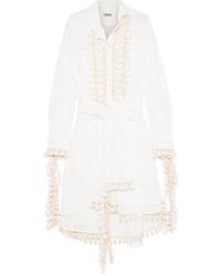 Robe chemise blanche Loewe