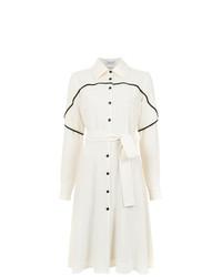 Robe chemise blanche Olympiah
