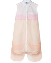 Robe chemise blanche Prada