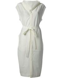 Robe chemise blanche Rick Owens