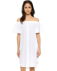Robe chemise blanche Vince