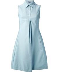 Robe chemise bleu clair Jil Sander