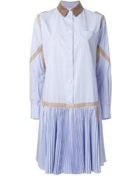 Robe chemise bleu clair Sacai