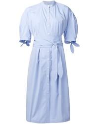 Robe chemise bleu clair Sea
