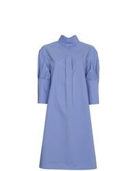 Robe chemise bleue Marni
