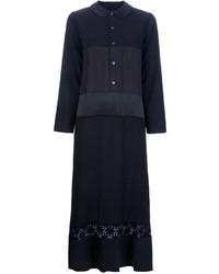 Robe chemise en dentelle noire Comme des Garcons