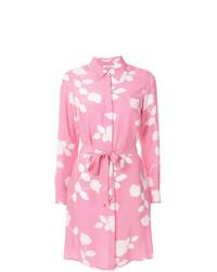 Robe chemise imprimée rose P.A.R.O.S.H.