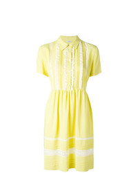 Robe chemise jaune P.A.R.O.S.H.