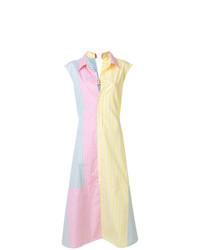 Robe chemise multicolore Marni