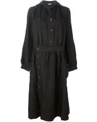 Robe chemise noire Comme des Garcons
