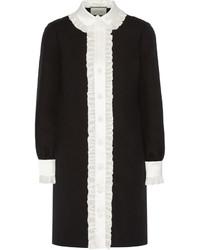 Robe chemise noire Gucci