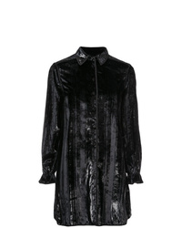 Robe chemise noire Opening Ceremony