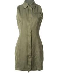Robe chemise olive Diesel