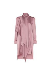 Robe chemise rose Fendi