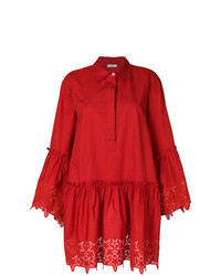 Robe chemise rouge P.A.R.O.S.H.