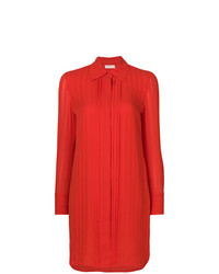 Robe chemise rouge Tory Burch