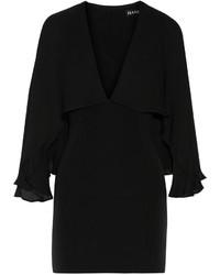 Robe de cocktail en chiffon noire