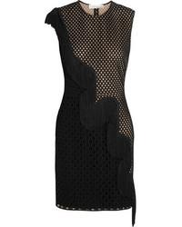 Robe de cocktail en dentelle noire Stella McCartney