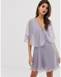 Robe de cocktail violet clair ASOS DESIGN