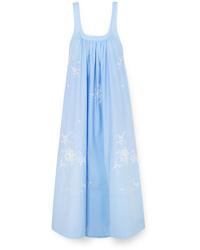 Robe de plage bleu clair