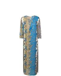 Robe de plage imprimée multicolore Tory Burch