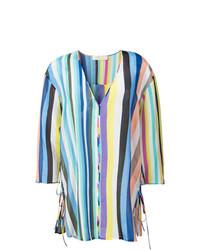 Robe de plage multicolore Dvf Diane Von Furstenberg