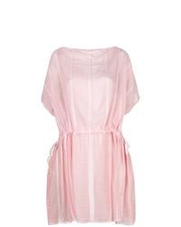 Robe de plage rose Lemlem
