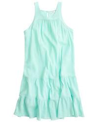 Robe de plage vert menthe