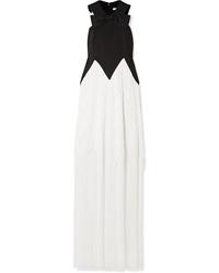 Robe de soirée blanche et noire Givenchy