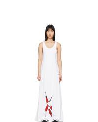 Robe de soirée blanche Reebok by Pyer Moss