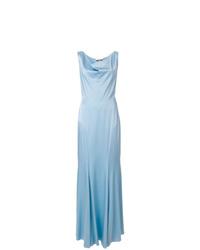 Robe de soirée bleu clair Moschino