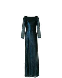 Robe de soirée bleu marine Dsquared2
