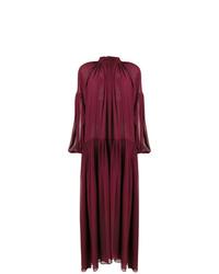 Robe de soirée bordeaux Stella McCartney